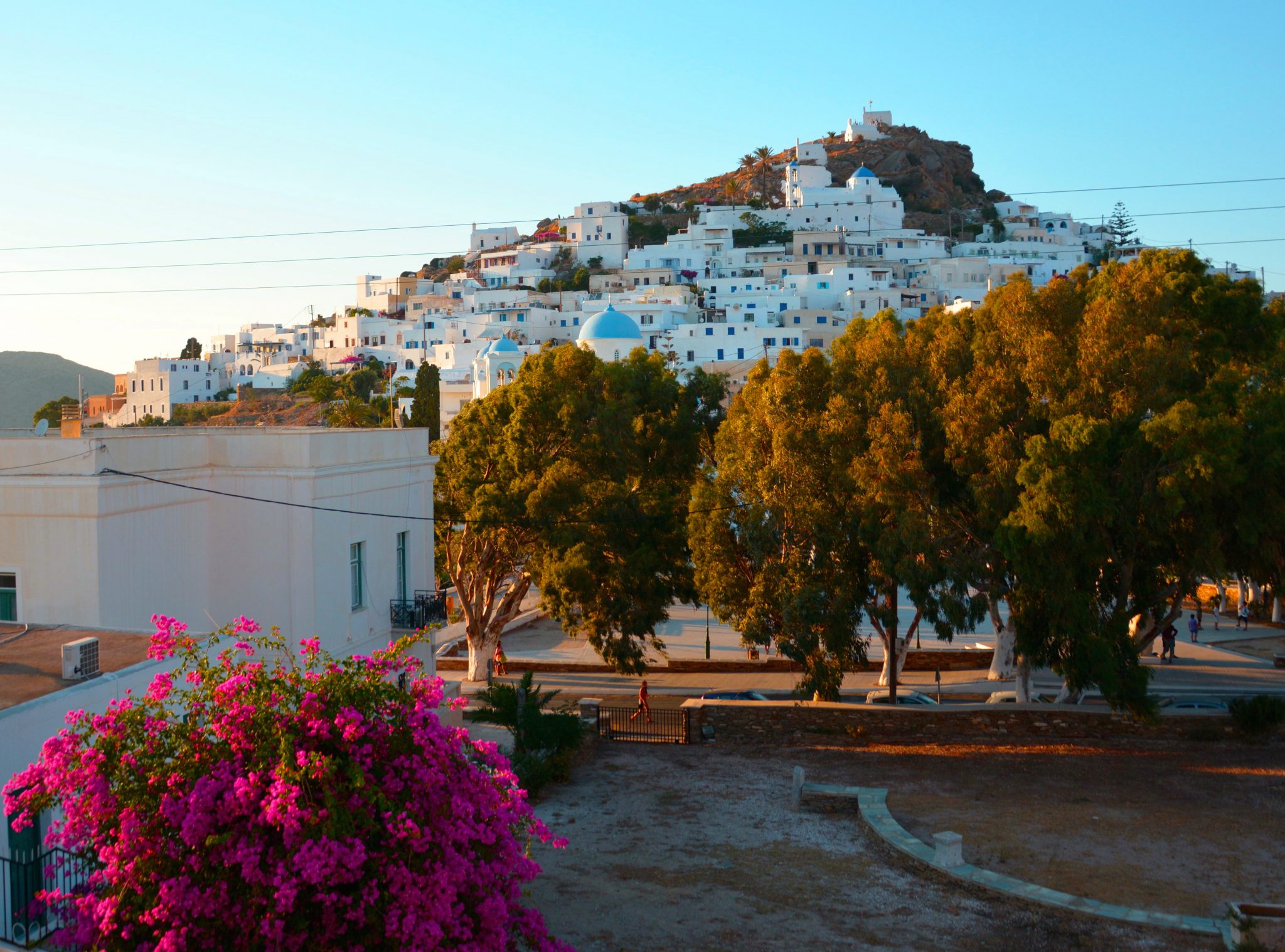 Ios is a Greek island located in the Cyclades.