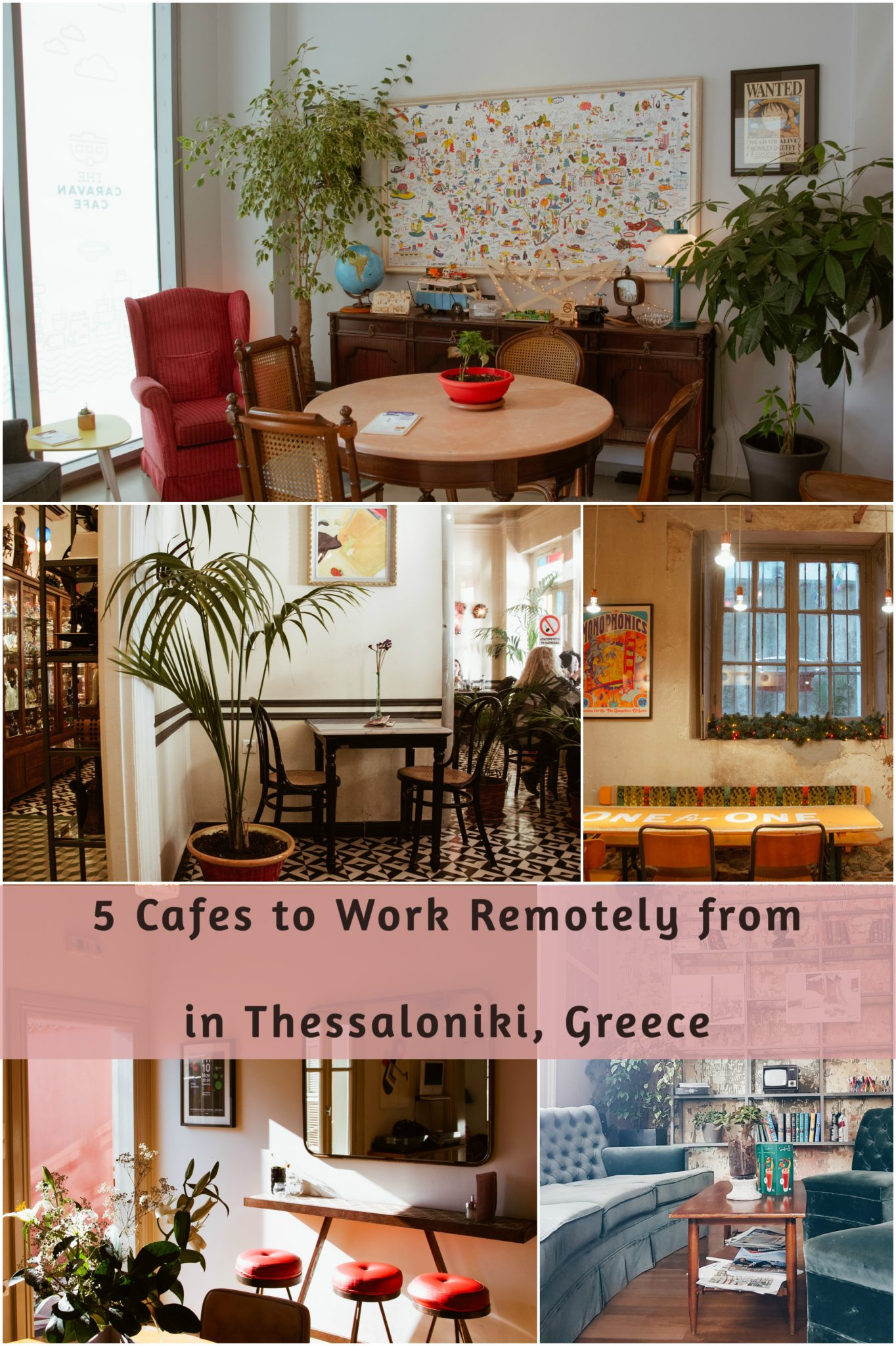 Cafes to Work Remotely from in Thessaloniki, Greece