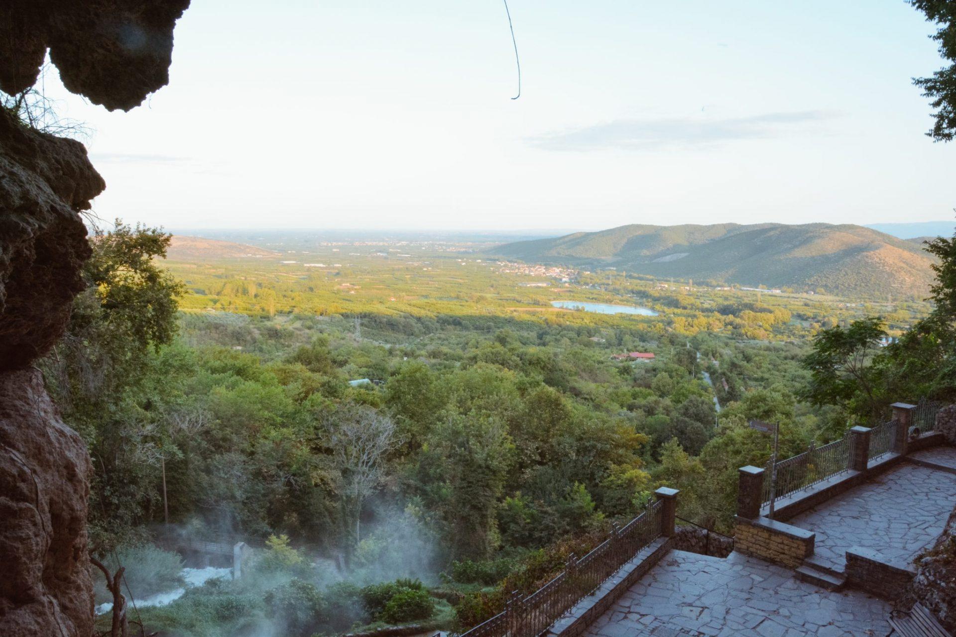 waterfalls in Edessa, Greece