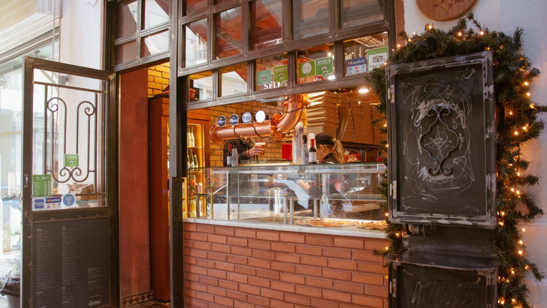 Last Slice Thessaloniki street food