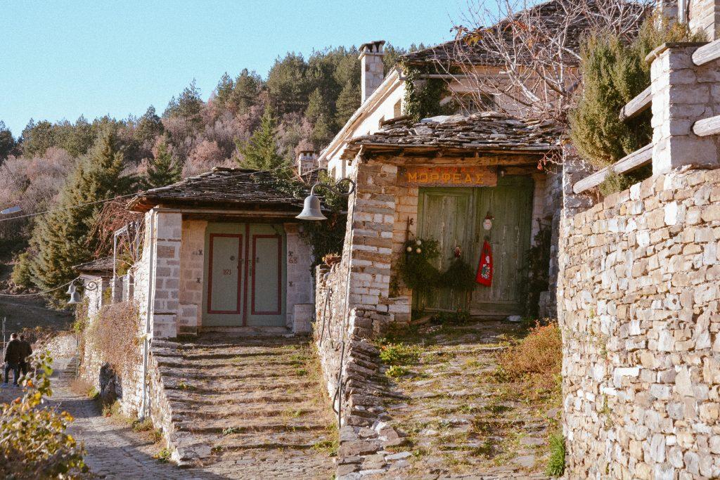 Traditional Greek village near Ioannina