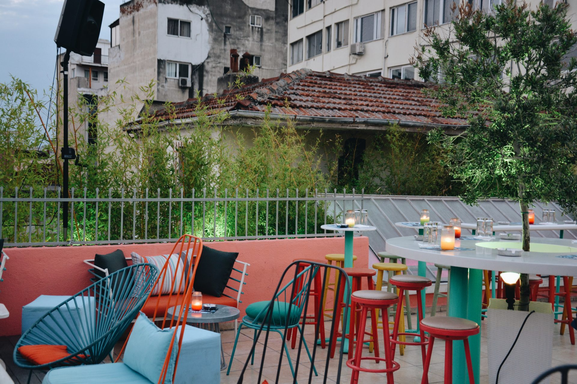 Urania Bar, Rooftop bar in Thessaloniki, Greece
