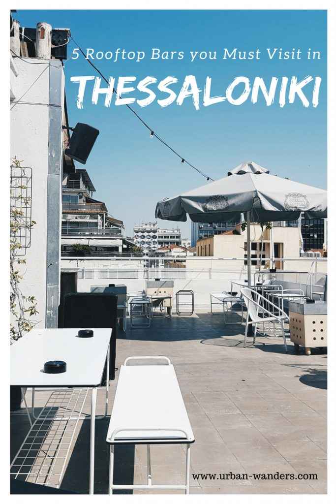 5 Rooftop Bars in Thessaloniki