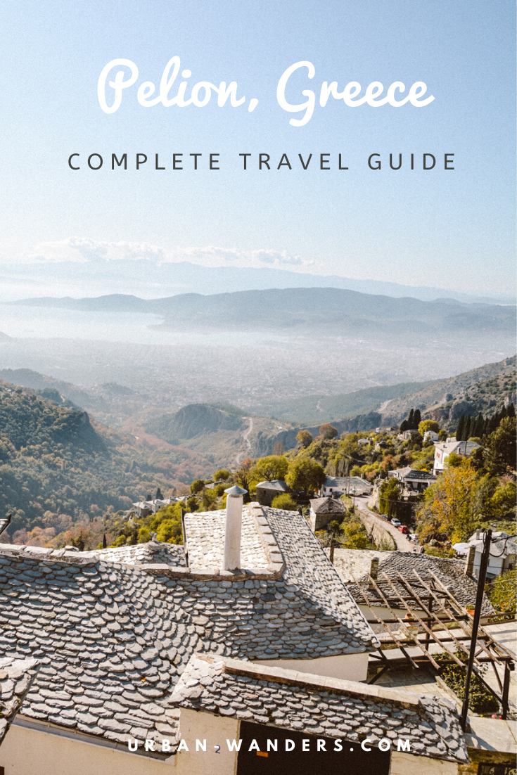 Travel guide to Pelion, Greece
