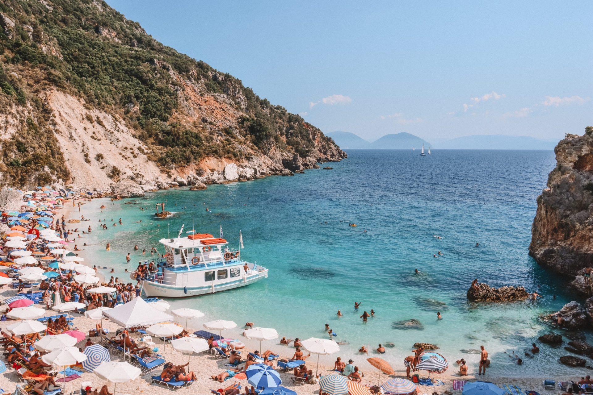 Agiofili Beach, Lefkada