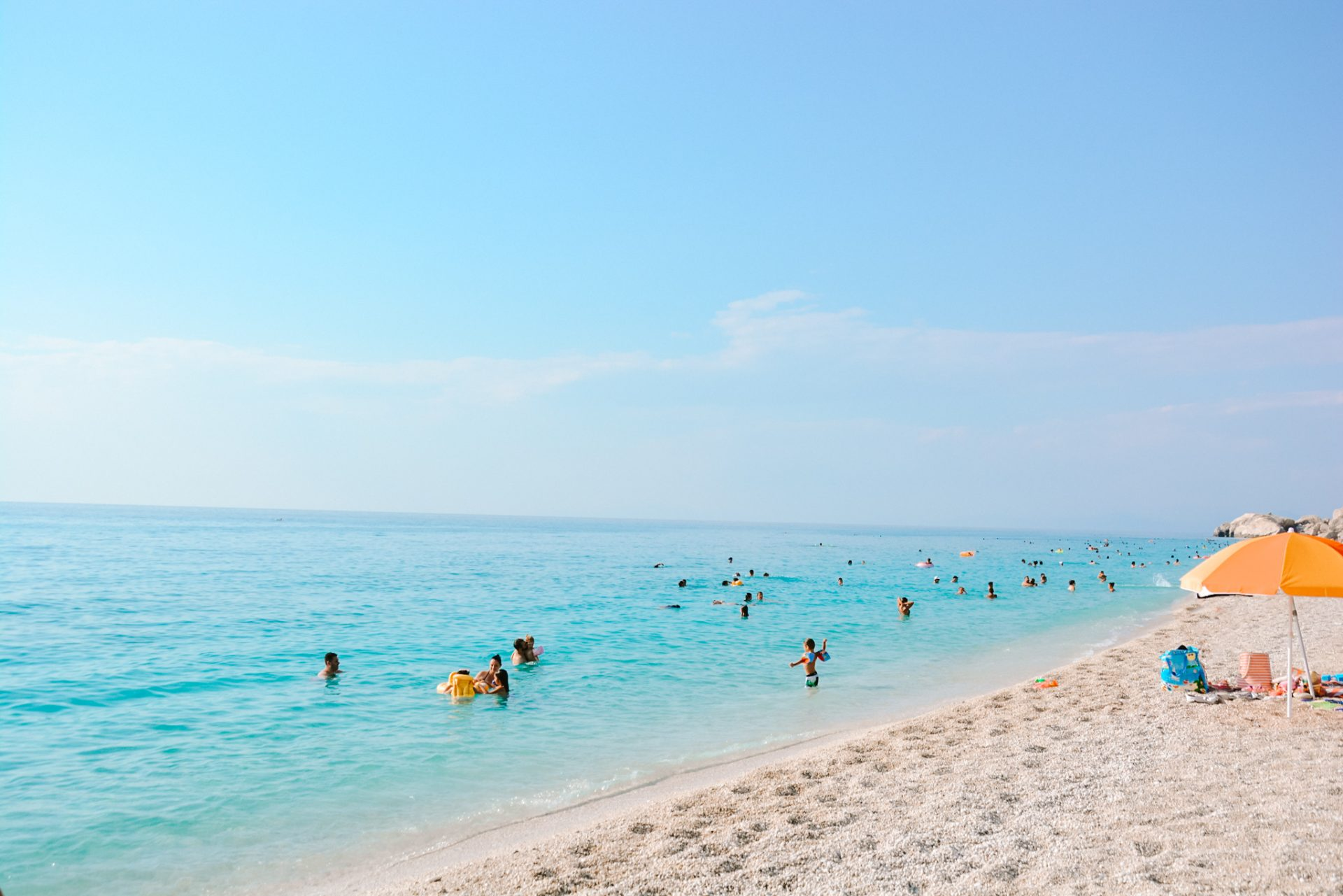 Kathisma Beach in Lefkada