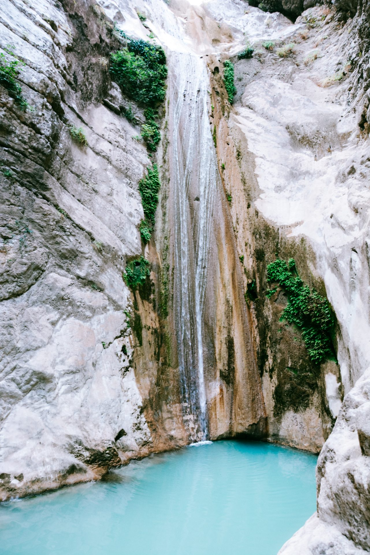 Nydri waterfalls in Lefkada