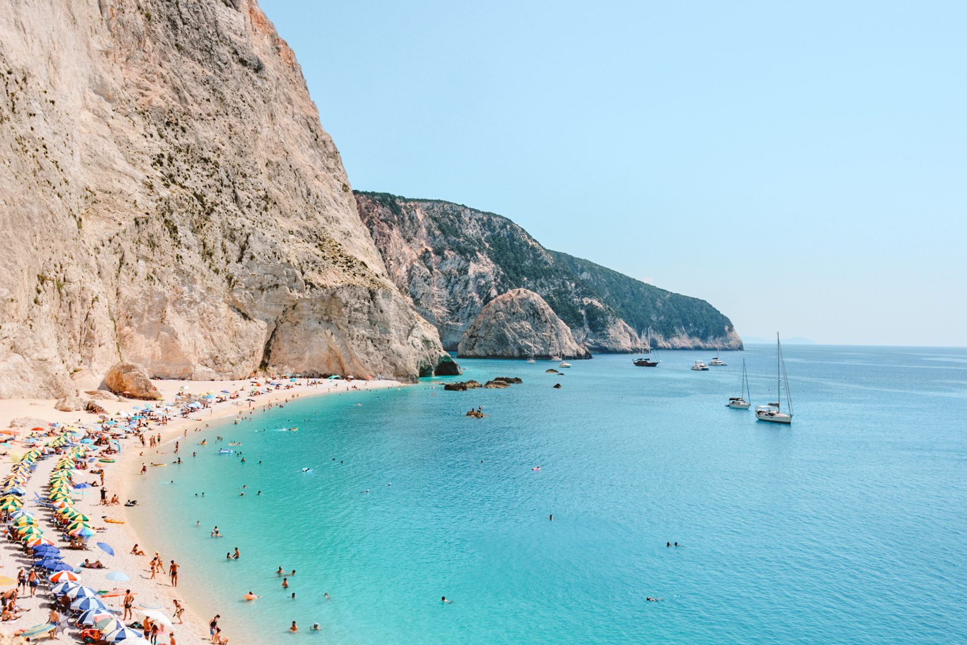 Top beaches in Lefkada, Greece