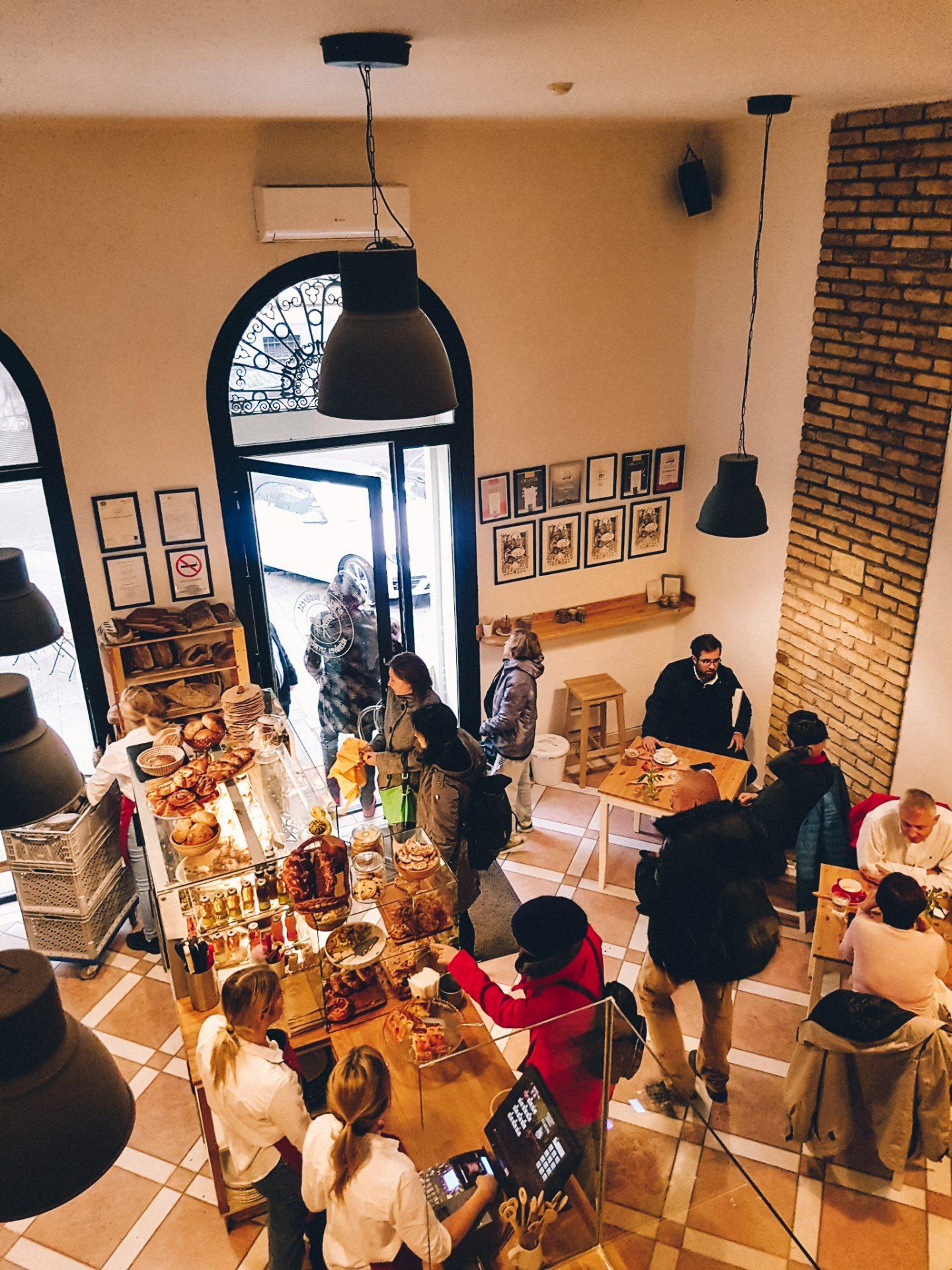 Artiźan Bakery is the best bakery in Budapest