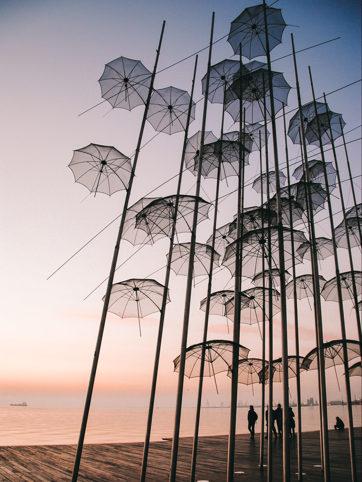 Famous Umbrellas of Thessaloniki