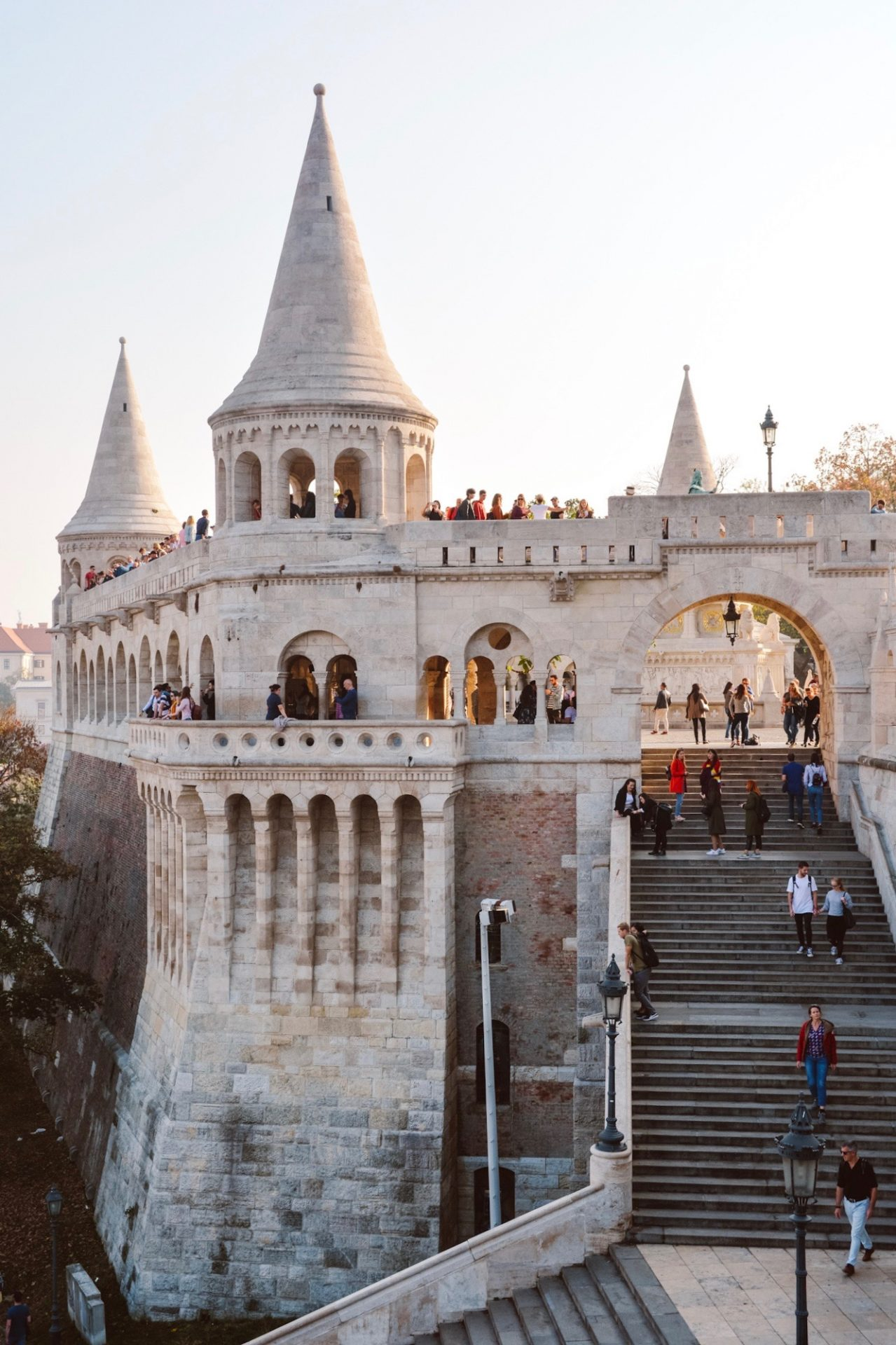 Fisherman's Bastion - The Most Instagrammable Places in Budapest