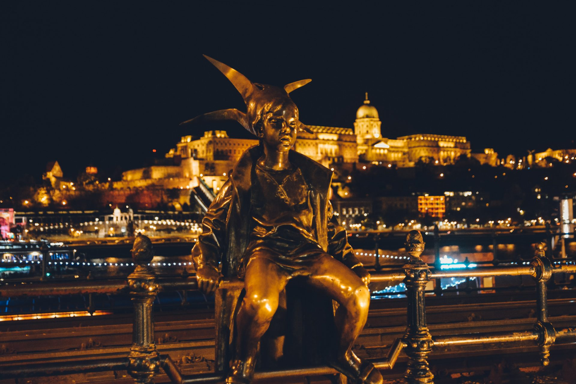 The Most Instagrammable Places in Budapest - Little Princess Statue