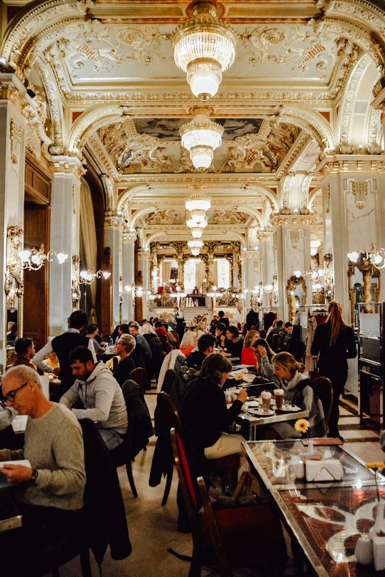 New York Cafe, Budapest Hungary