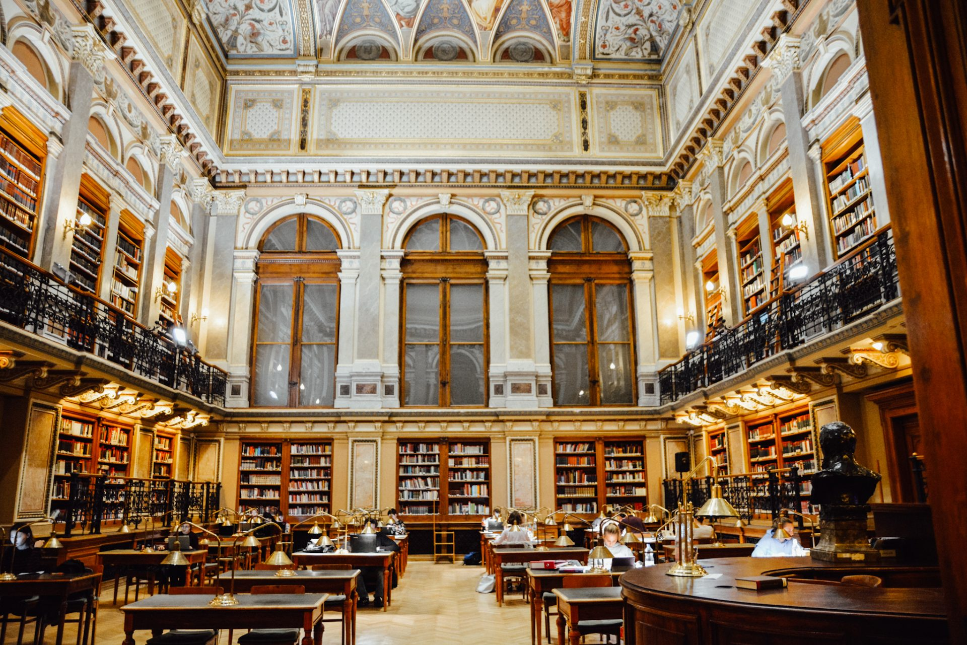 Photo Guide to Budapest - University Library