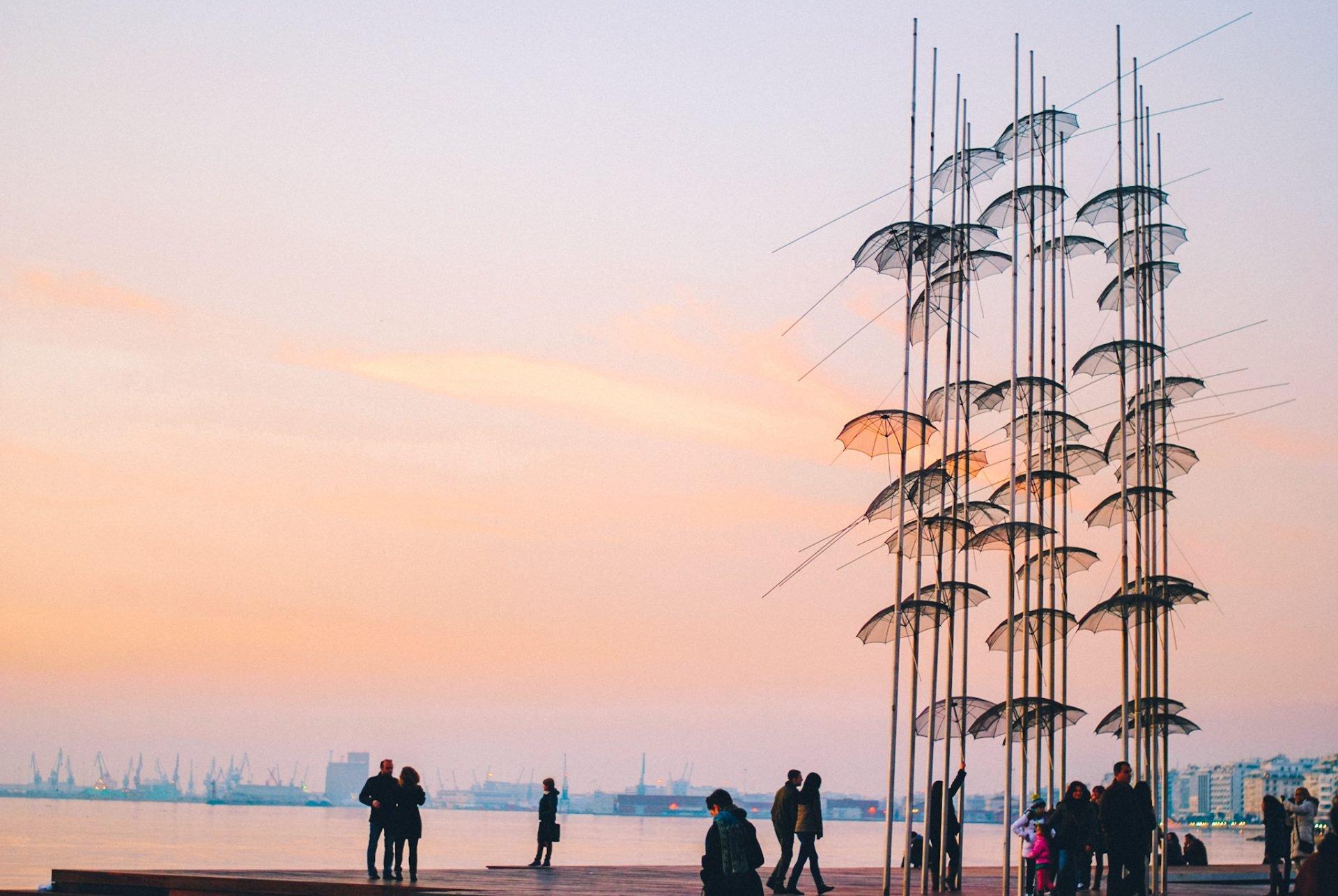 Umbrellas of Thessaloniki