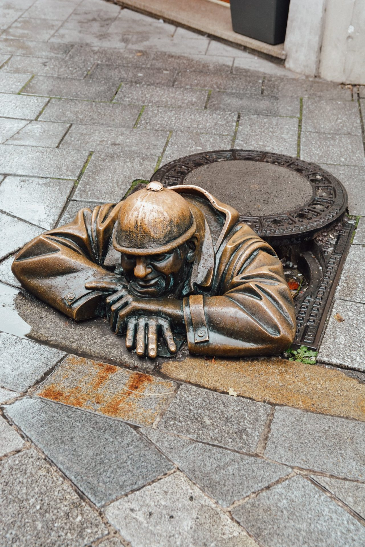 Man at Work Statue