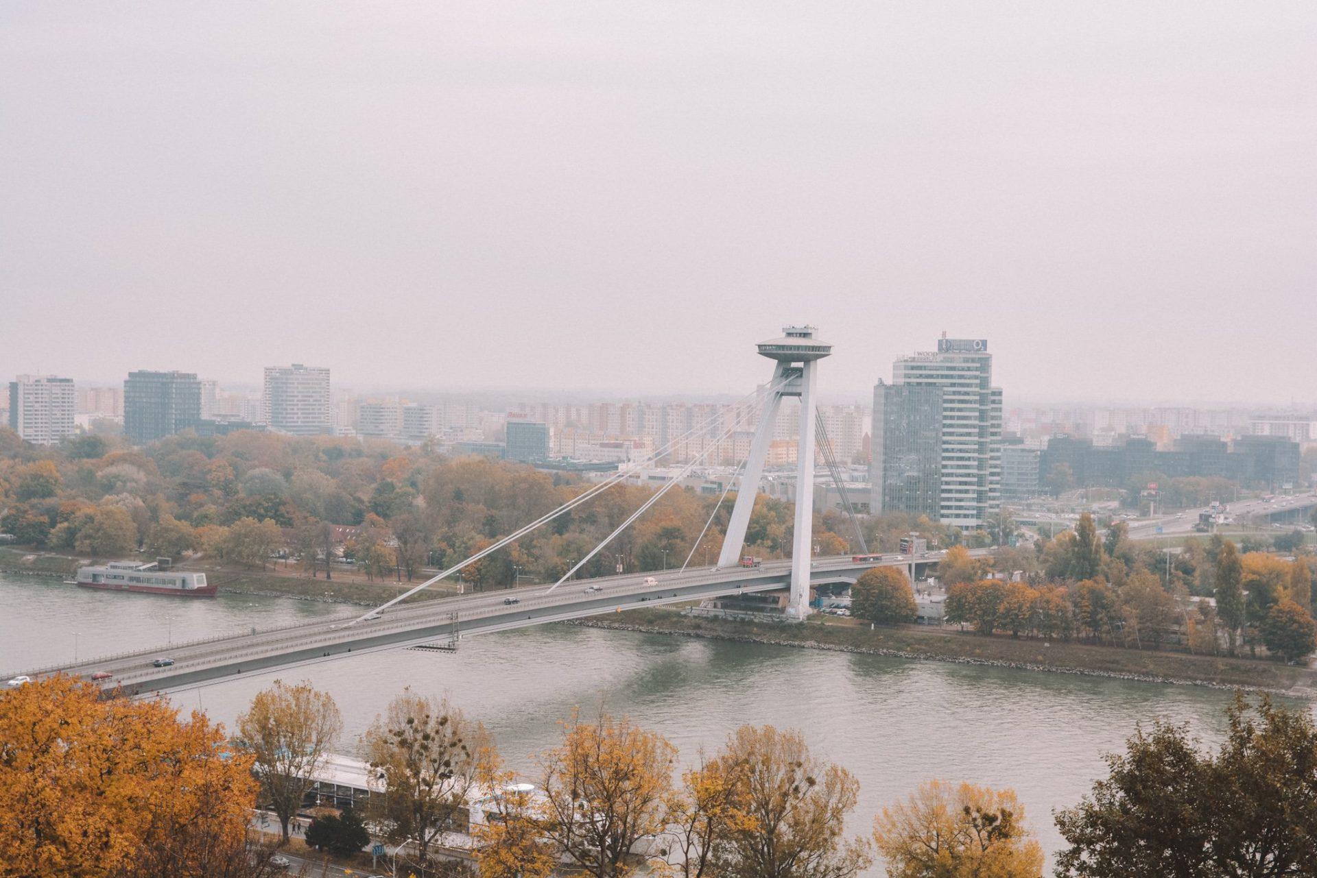 UFO Tower in Bratislava