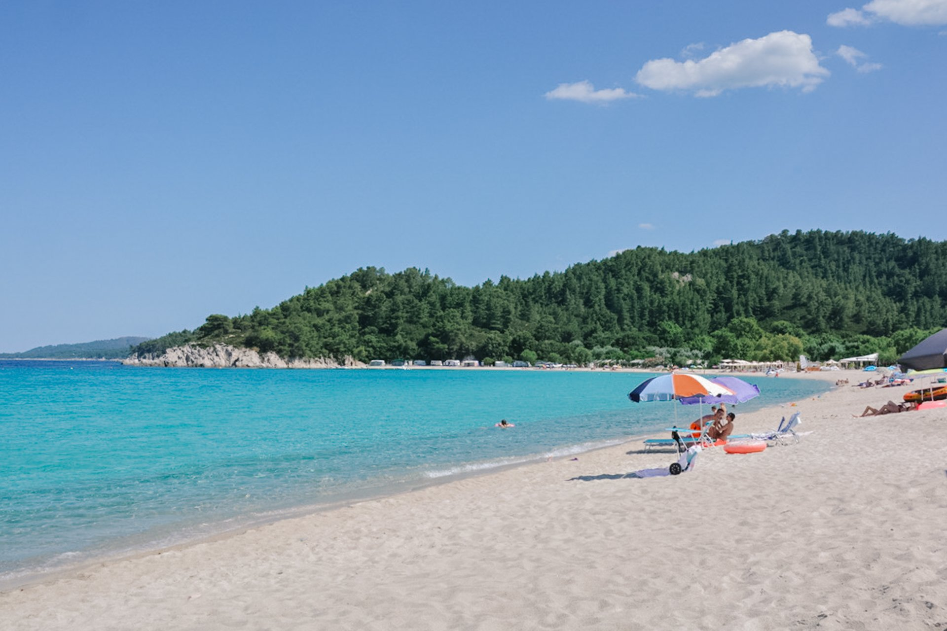 Armenistis Beach in Sithonia