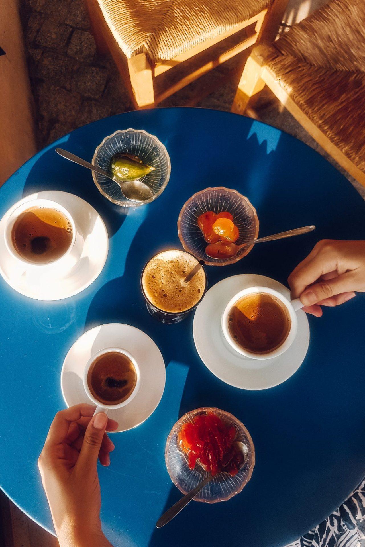 "Café ""O Pirgos"", Chora Samothrace, Greece"