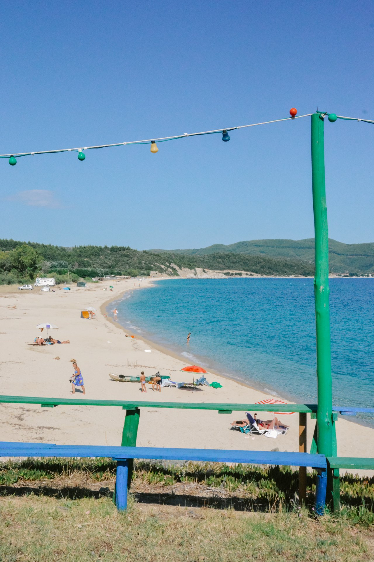 Ethnik Beach Bar in Sithonia Halkidiki