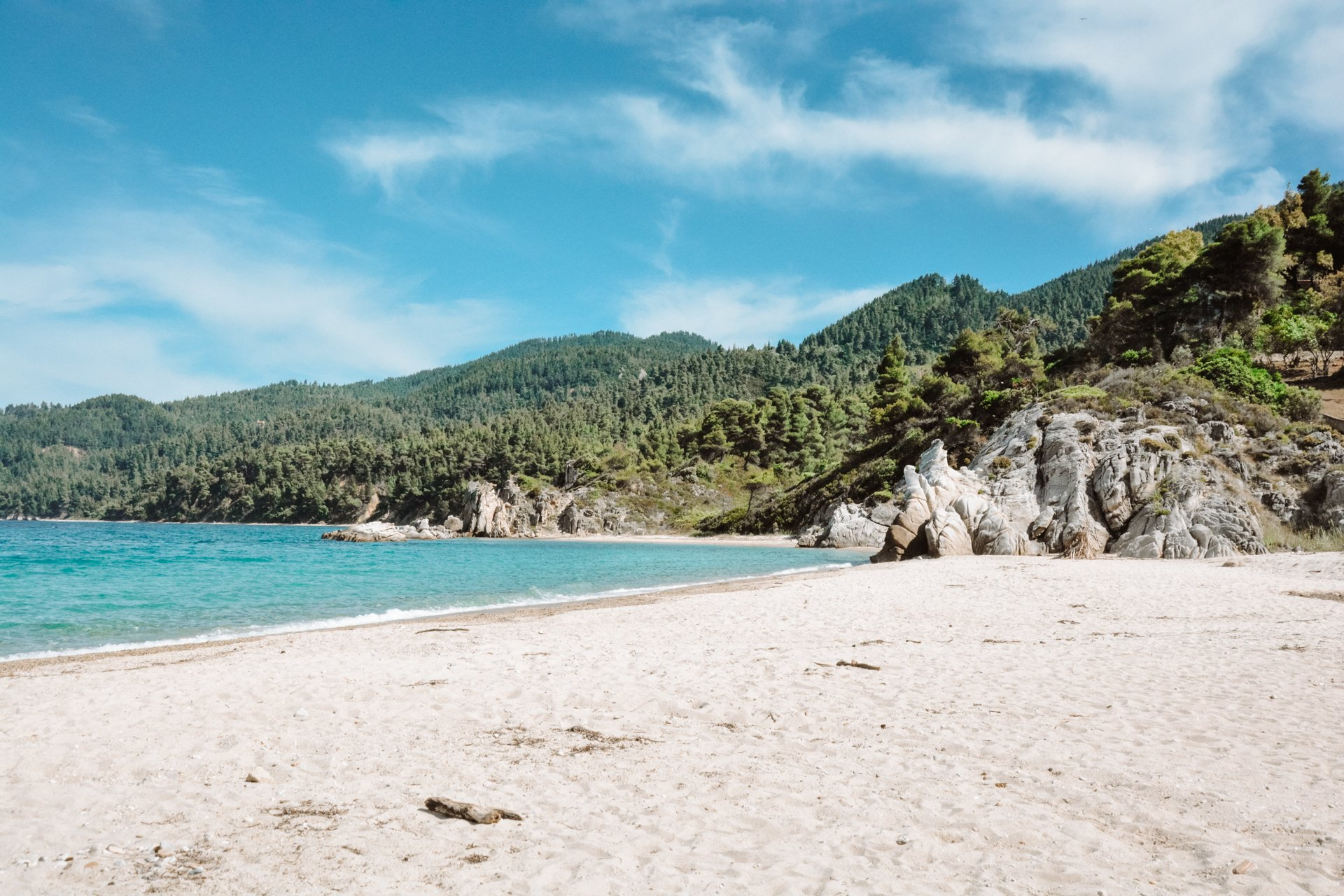 Fava Beach in Sithonia