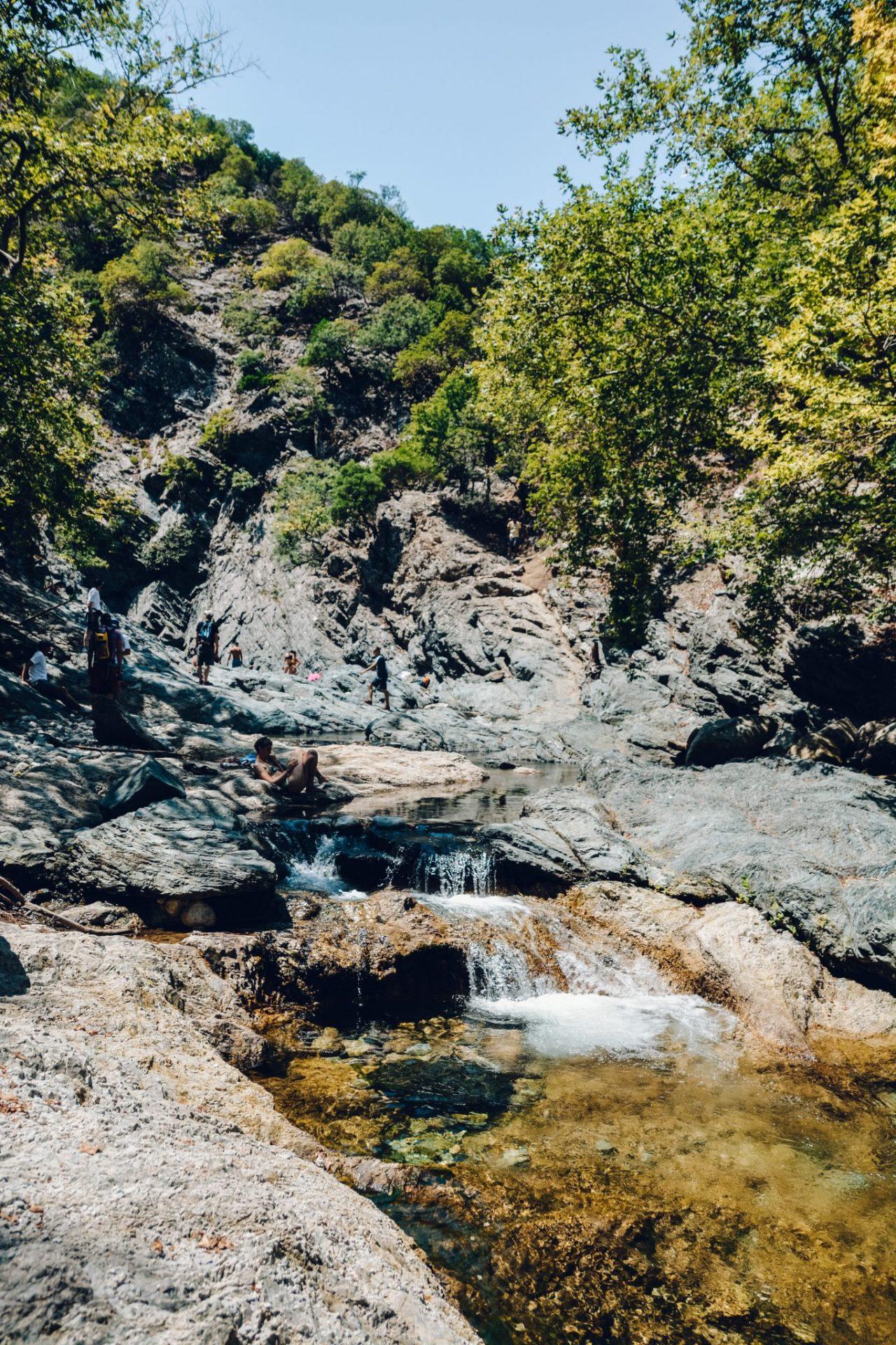 Fonias Waterfall Samothrace