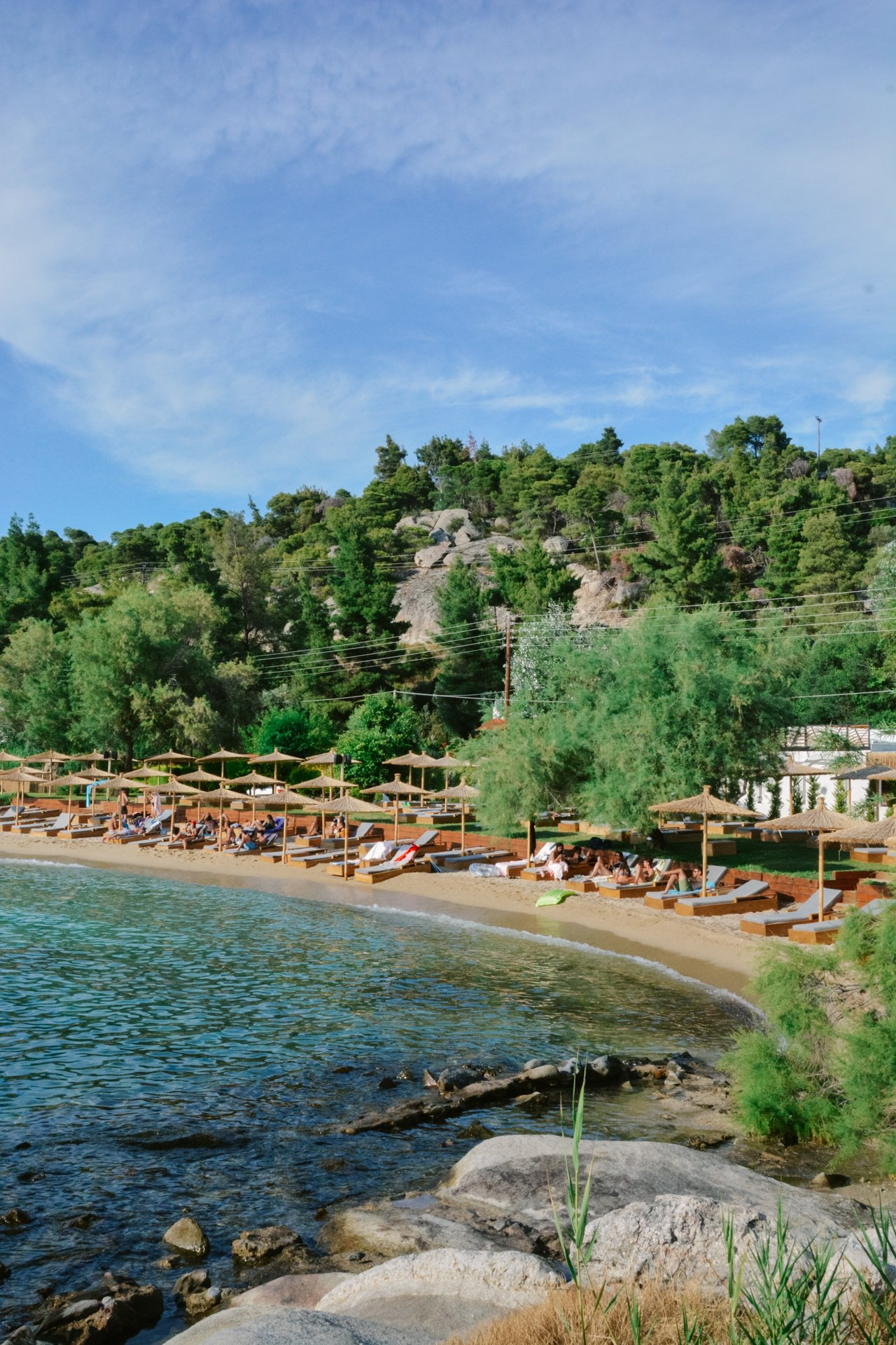 Kalogria Beach in Sithonia