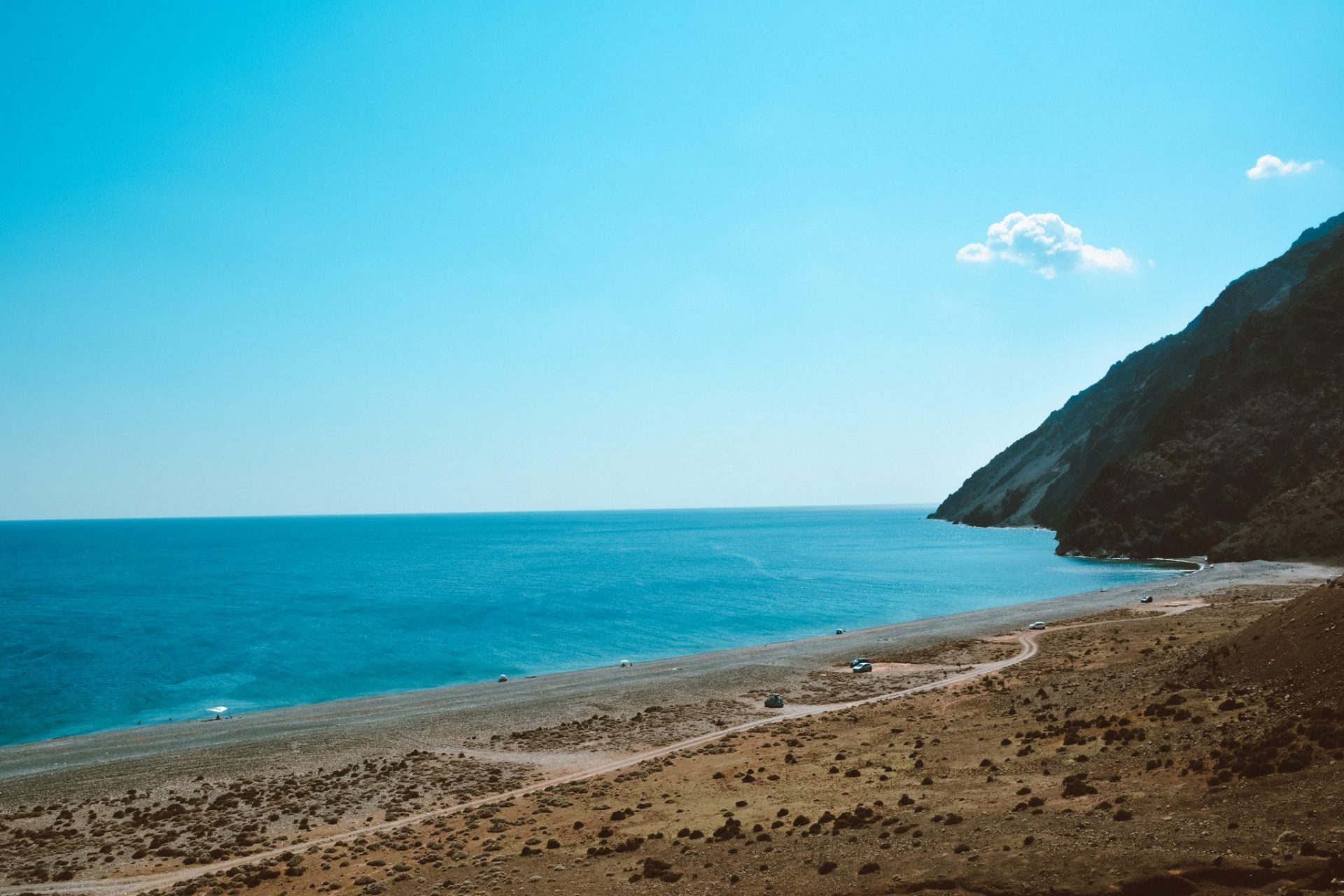 Kipos Beach, Samothrace