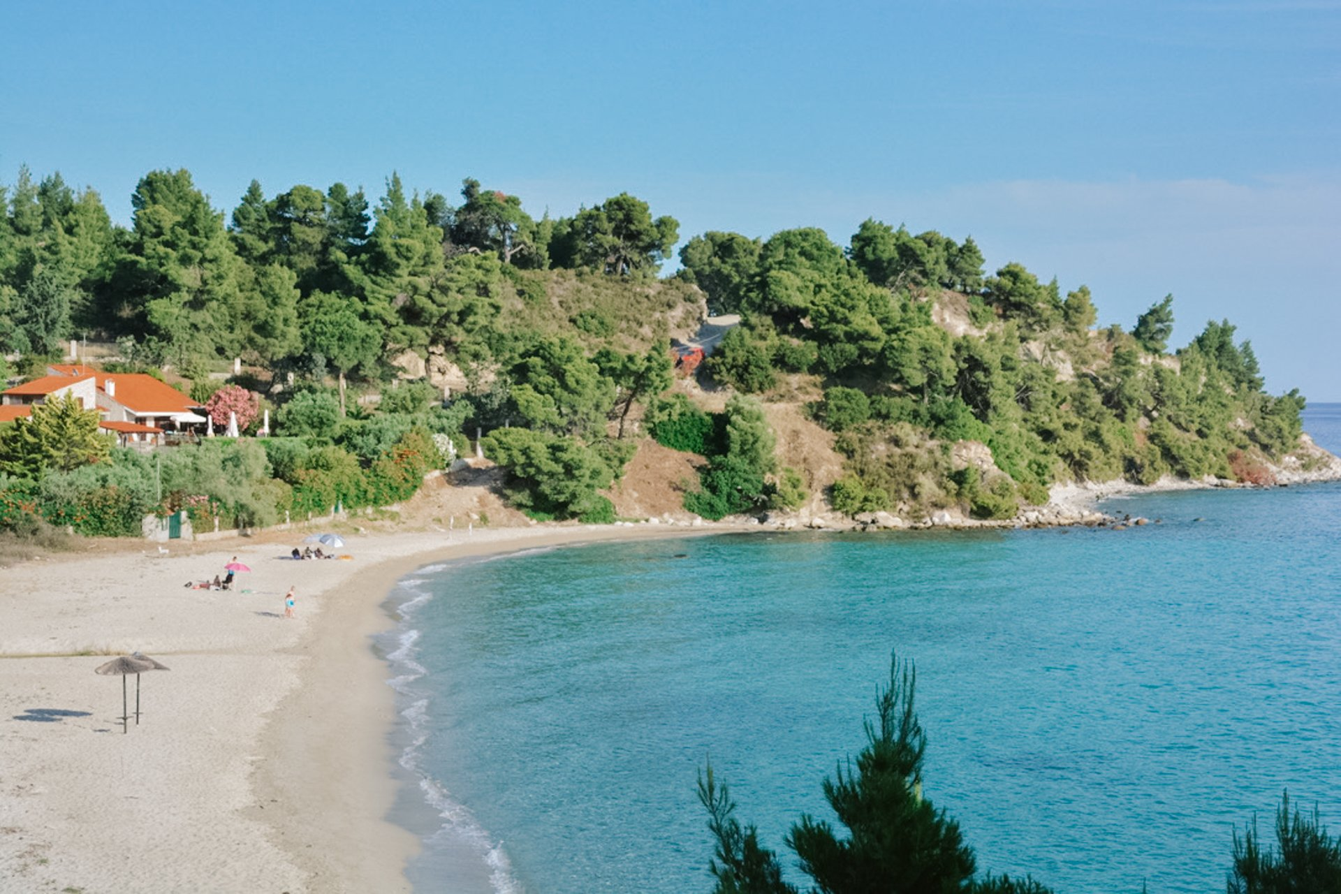 Koviou Beach in Sithonia