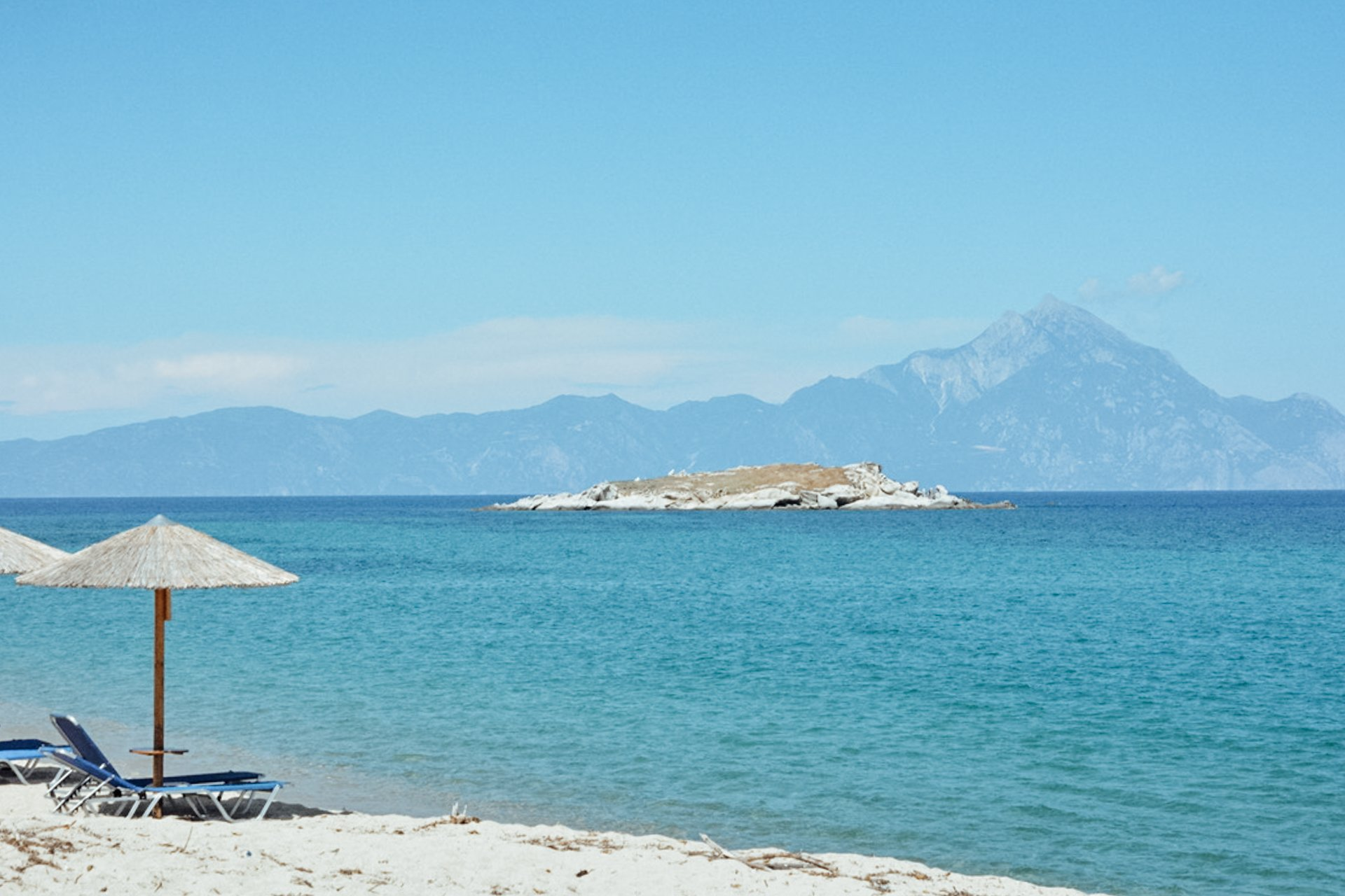 Kriaritsi Beach in Sithonia Halkidiki