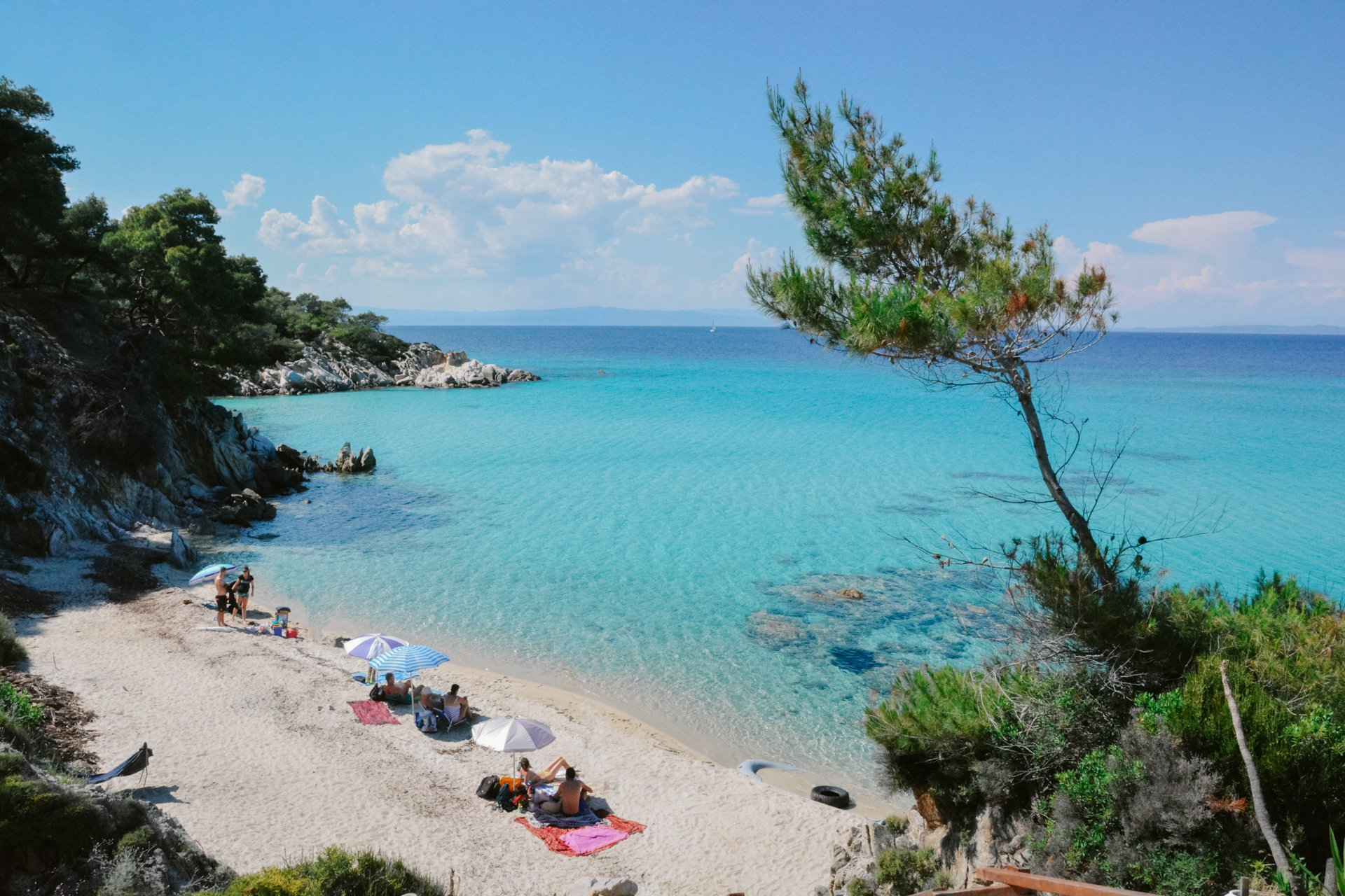 Mega Portokali Beach in Sithonia