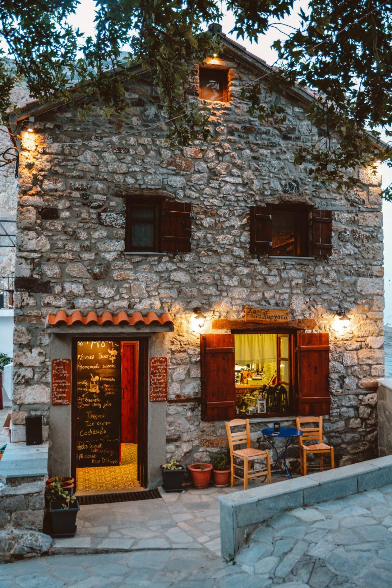 O Pirgos in Samothraki, Greece