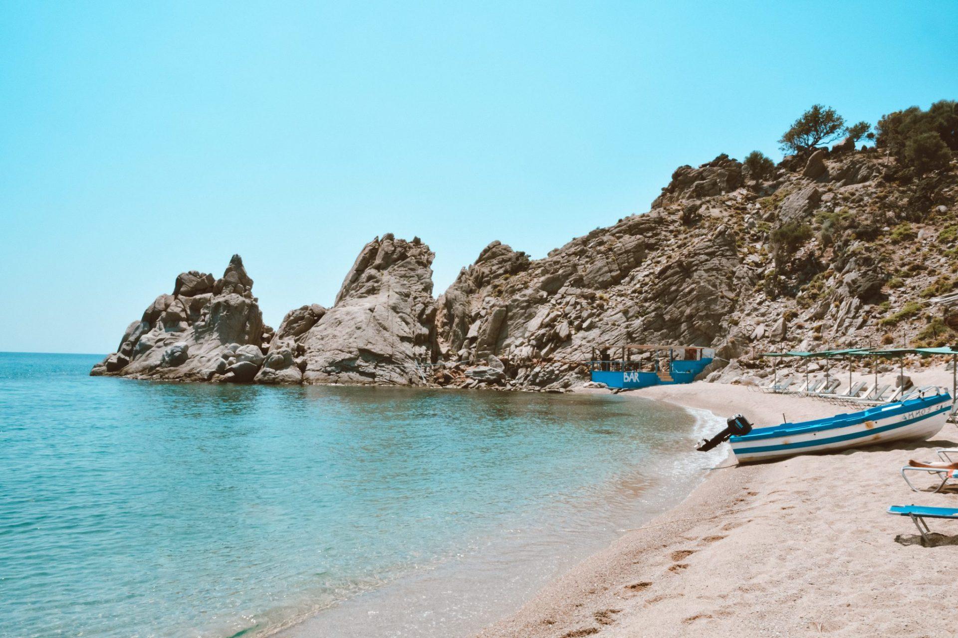 Pachia Ammos Beach, Samothraki