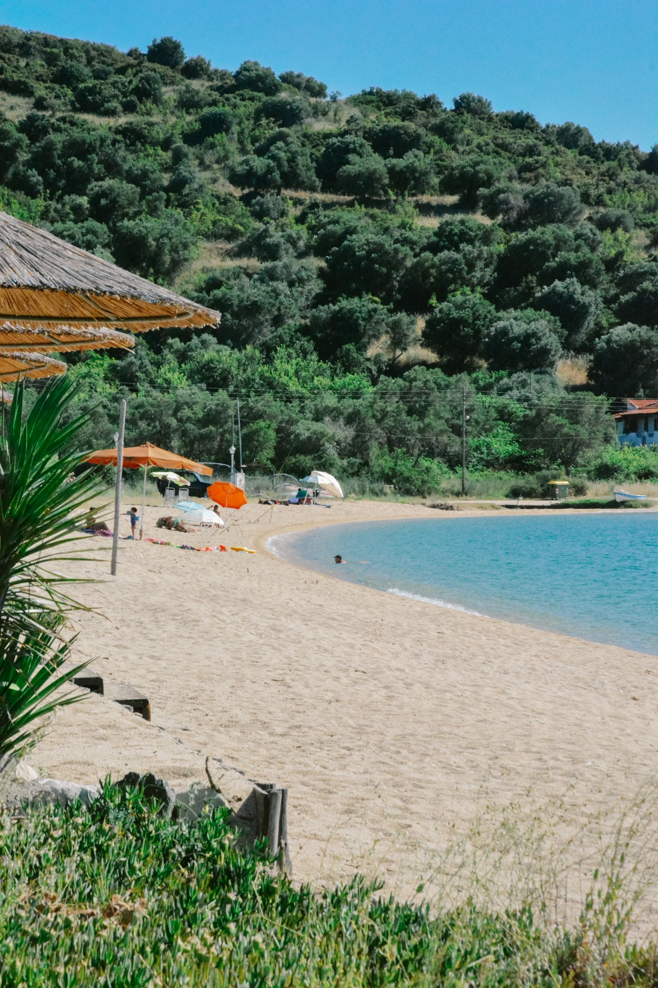 Porto Koufo Beach in Sithonia