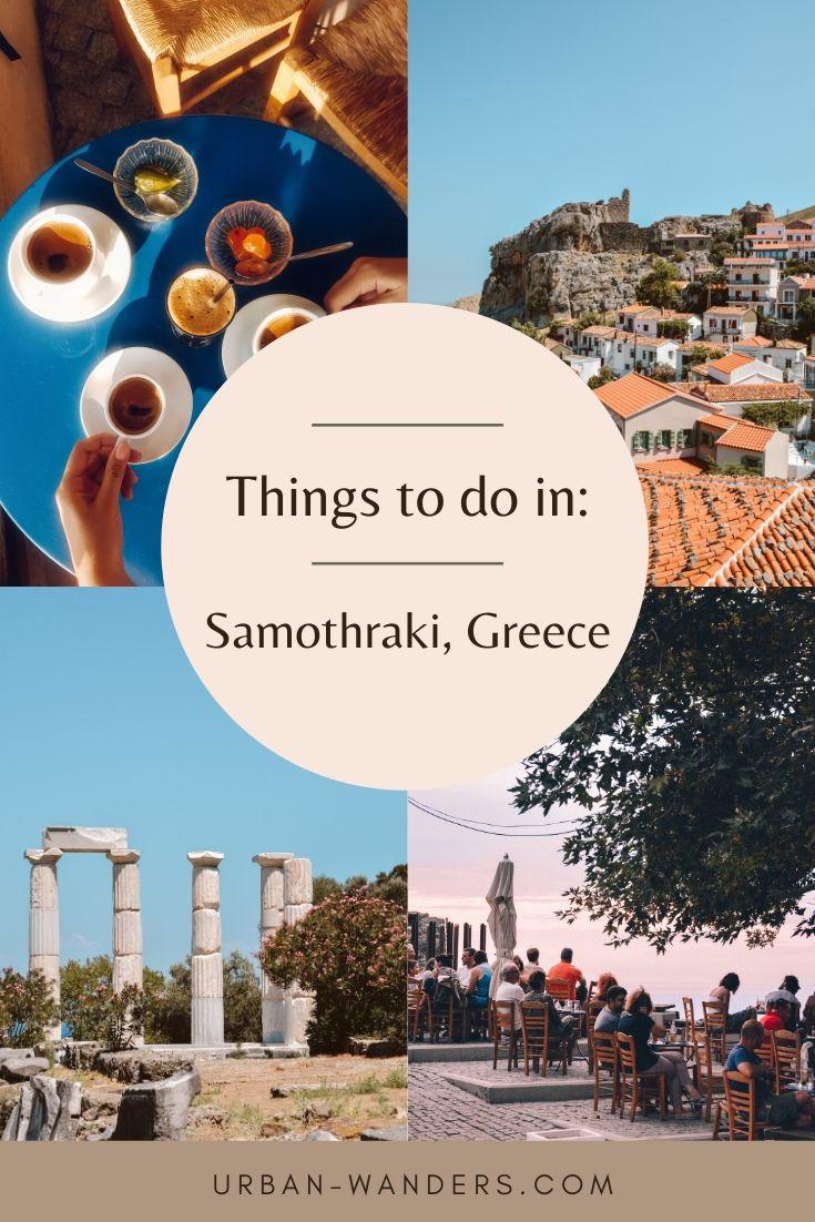 Things to do in Samothraki, Greece
