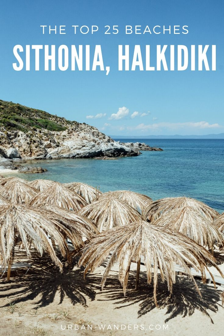 Top 25 beaches in Sithonia, Halkidiki