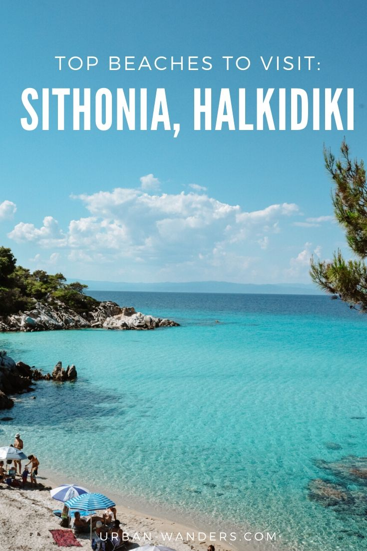 Top beaches in Sithonia, Halkidiki