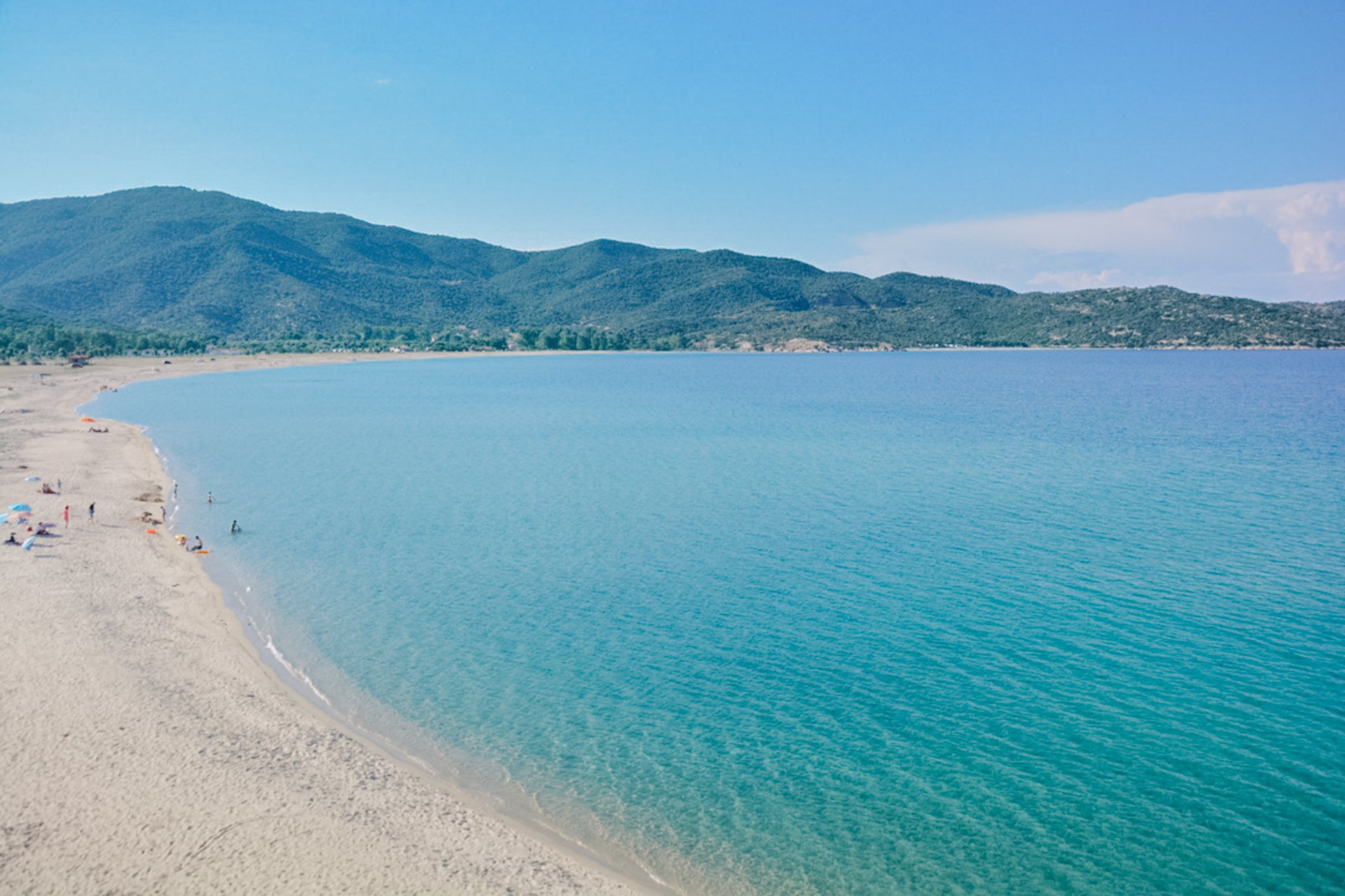 Valti Beach in Sithonia