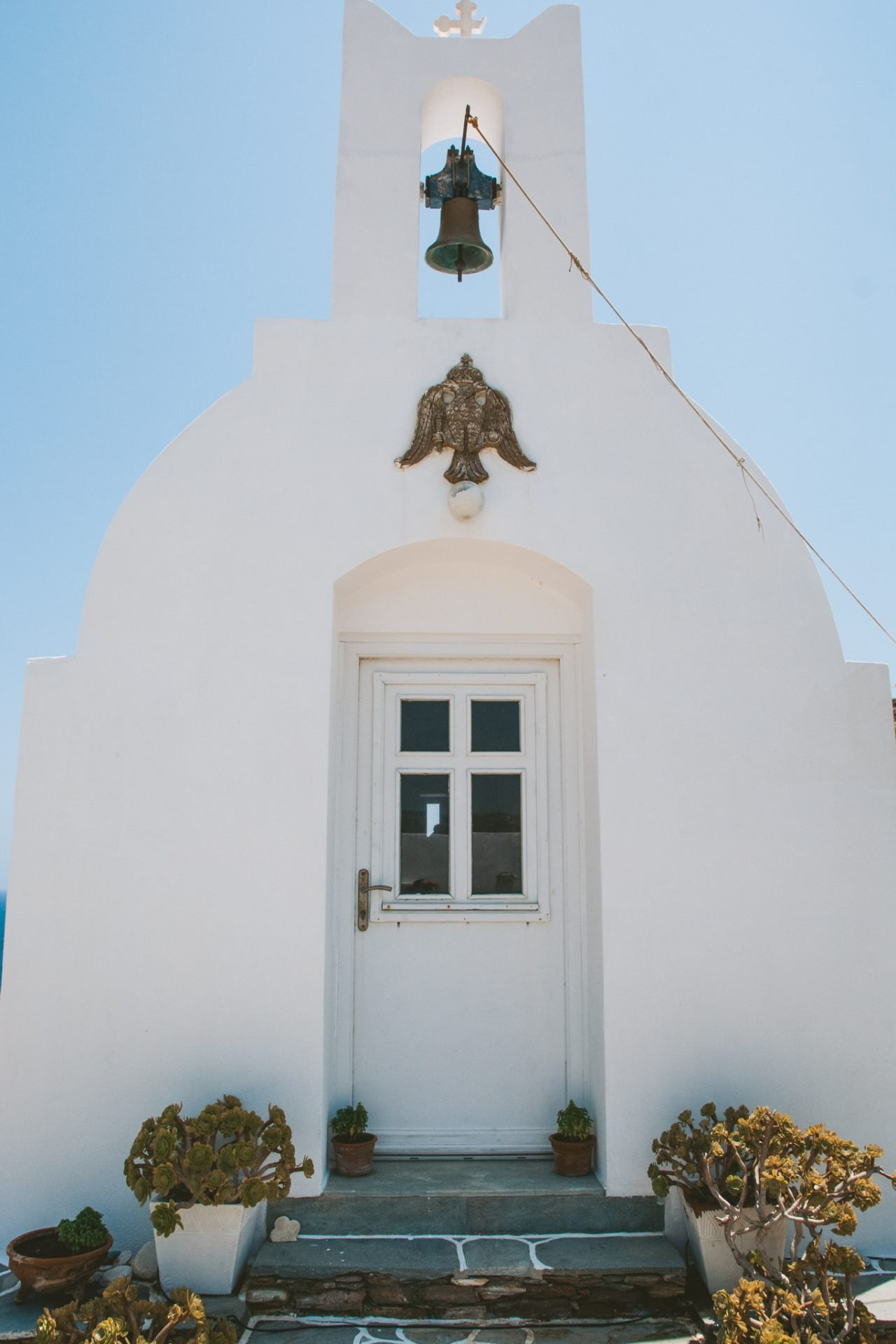 Church at Kavos Studios Sifnos