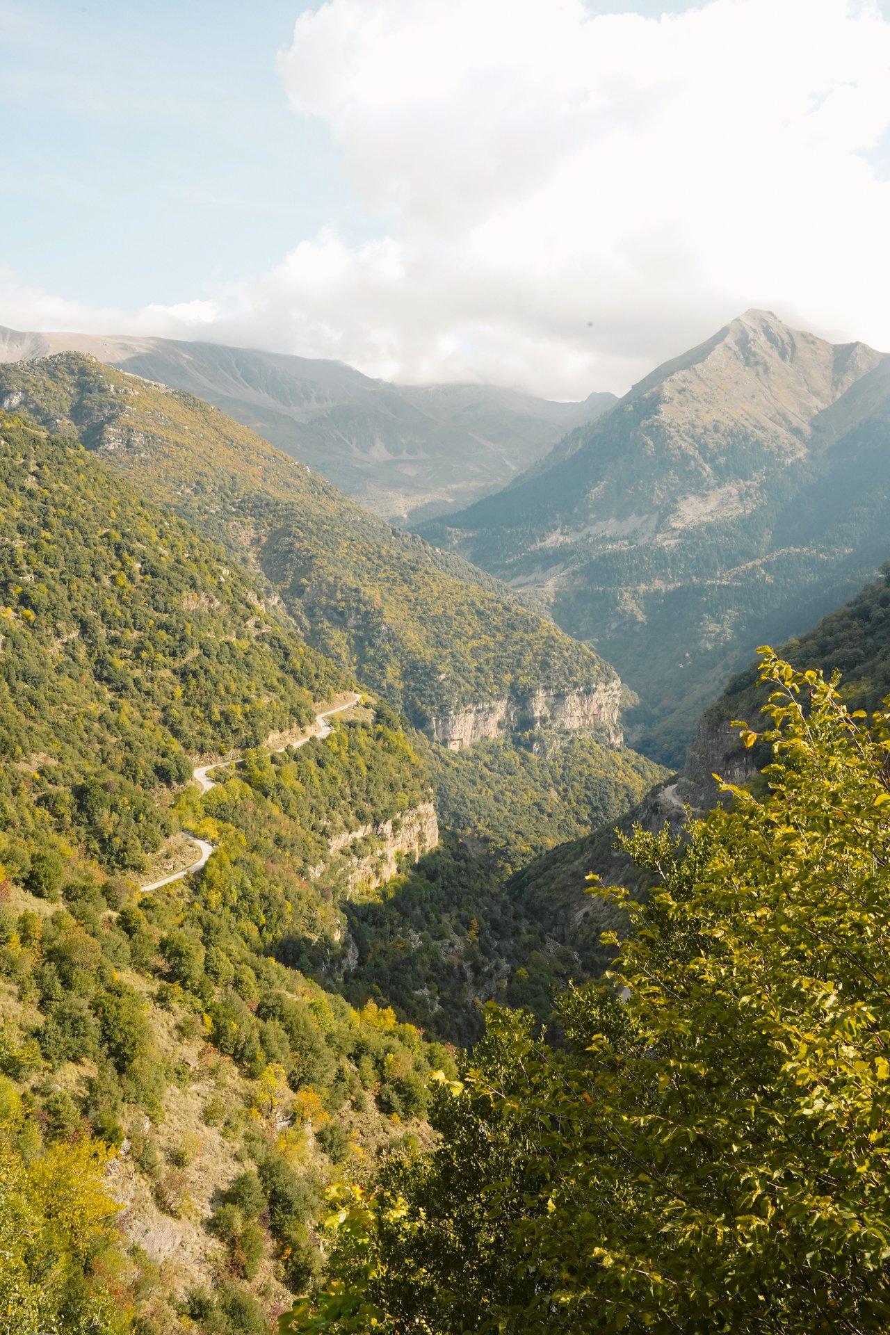 Hiking paths, Tzoumerka Epirus
