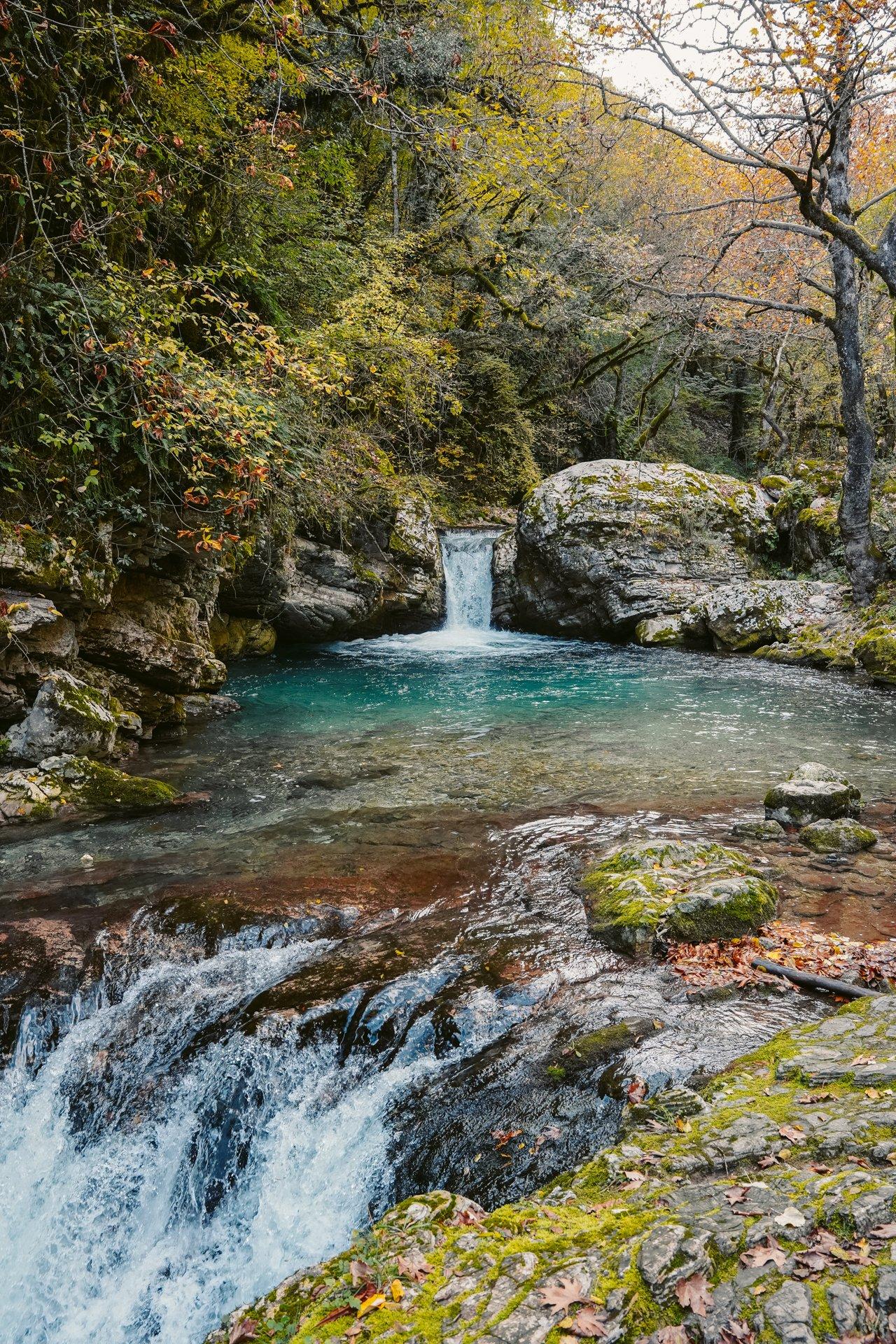 Hiking trails Tzoumerka