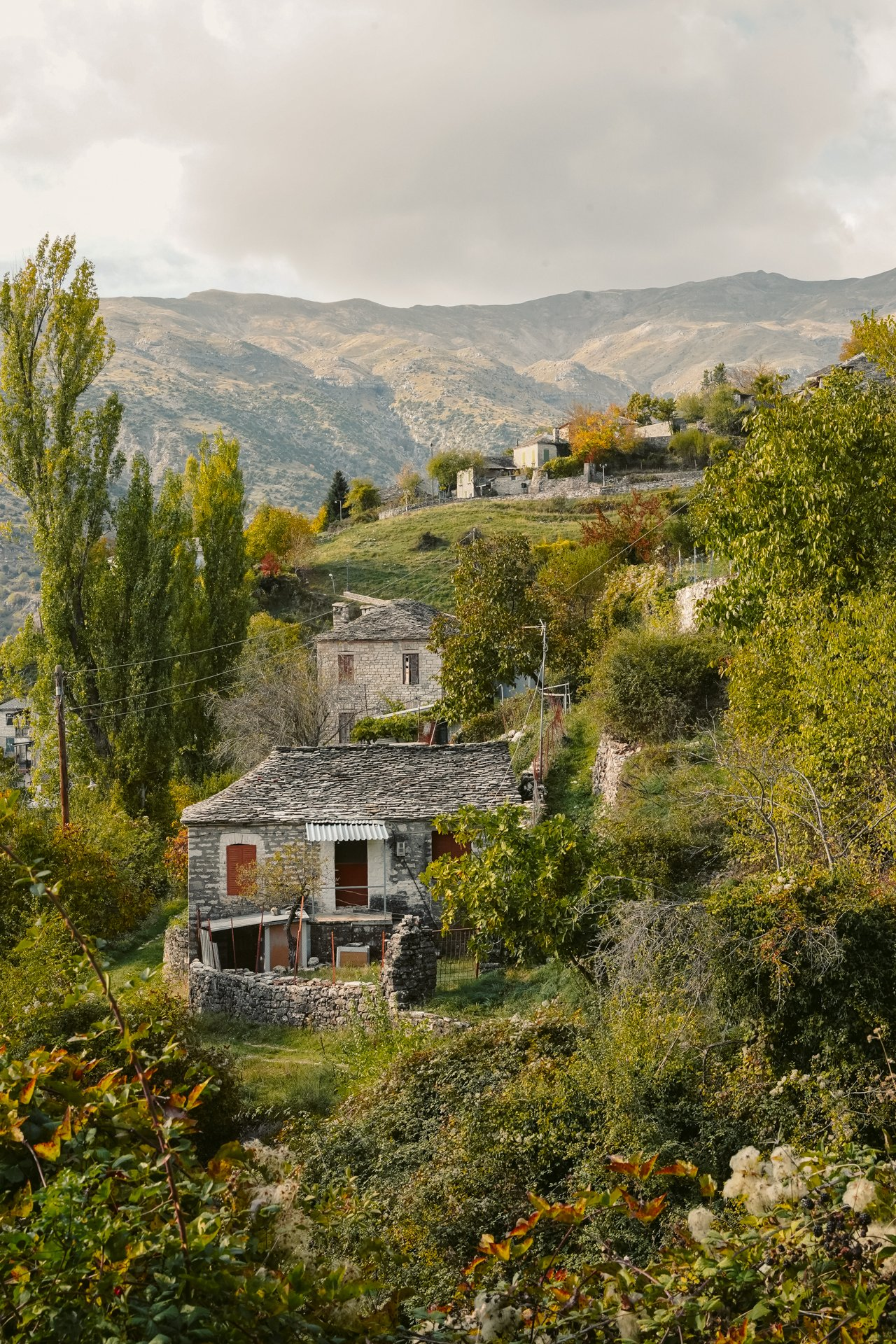 Kalarites village in Tzoumerka