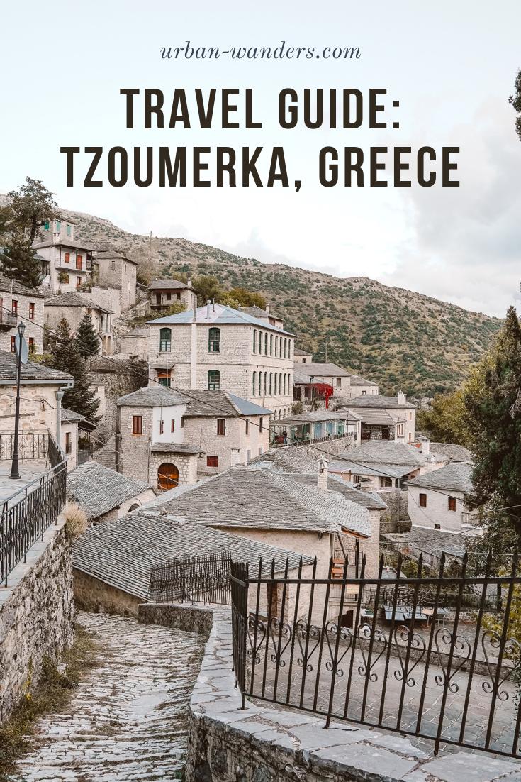 TRAVEL GUIDE TO TZOUMERKA, GREECE