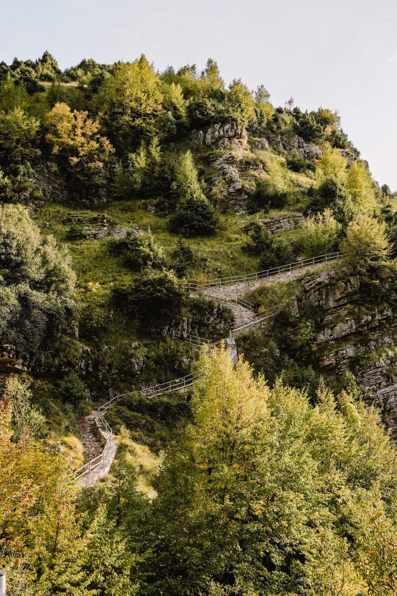 Hiking trails in Tzoumerka